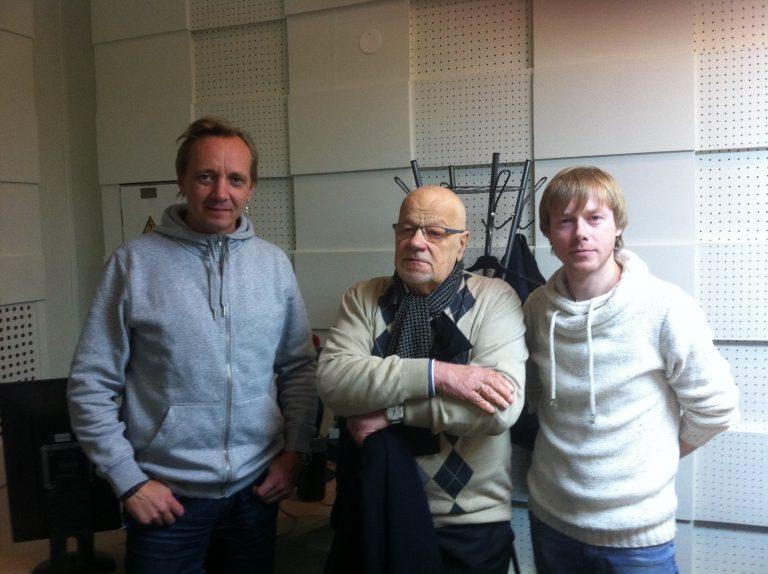 """Jānis Peters un Jānis Strazds par sadarbību un jauno albumu """"Lins"""", 2015"""