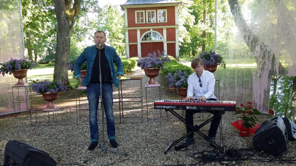 Jānis Strazds un Igo Rietumu radio studijā 5.04.2019