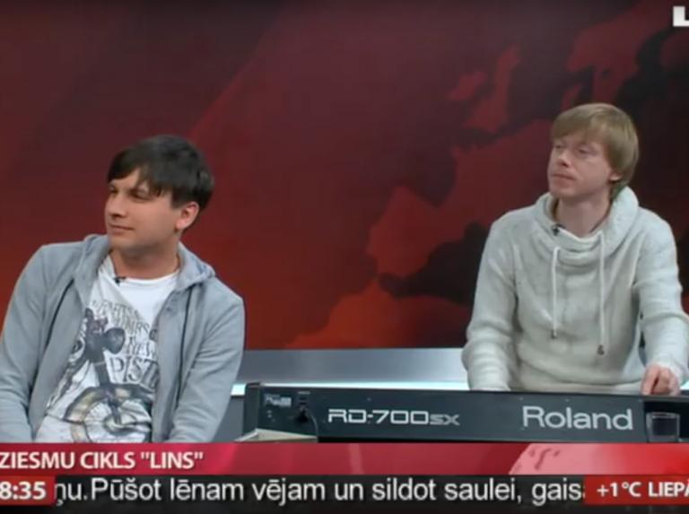 """Intervija LTV """"Rīta panorāmā"""" par ciklu """"LINS"""", 14.10.2015"""