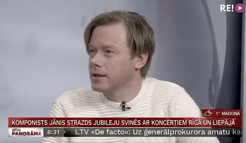 """Intervija LTV """"Rīta Panorāmā"""" 10.02.2020"""