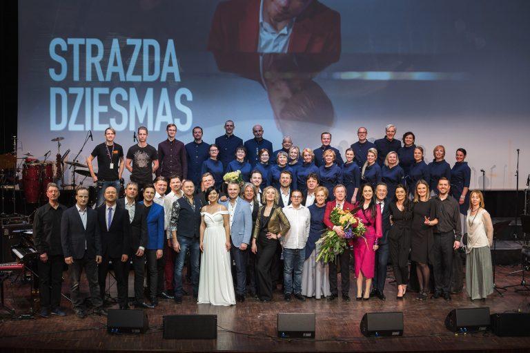 STRAZDA DZIESMAS, 40 gadu jubilejas koncerts Liepājā, 14.02.2020