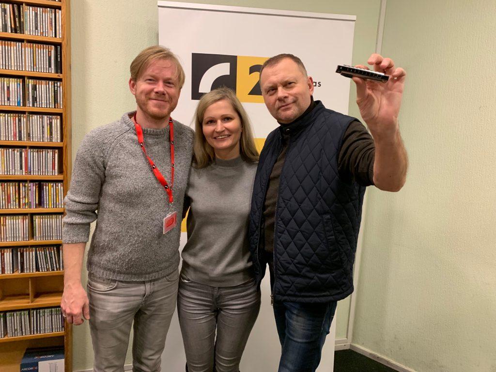 """Strazds un Igo Latvijas Radio 2 studijā – """"Mēs ejam"""""""